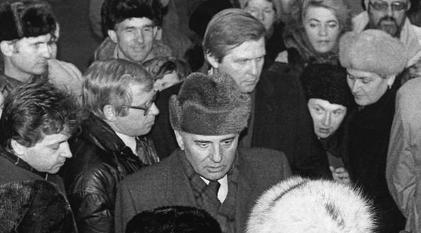 Путин поздравил Горбачева с87-летием